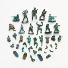 Gradual breakdown of the flotsam army
