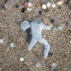 Headless, legless knight (plastic)