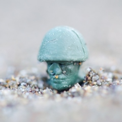 Toy soldier head 2